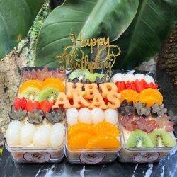 Segar dan Cantik! Royal Salad Ulang Tahun, Pelopor Pertama di Pangkalpinang