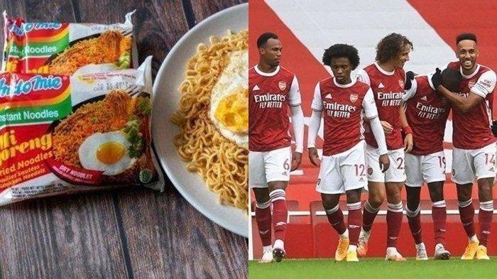 'Ya Tuhan, Rasanya Benar-benar Enak' Thomas Partey Pemain Arsenal Rela Habiskan Uangnya demi Indomie