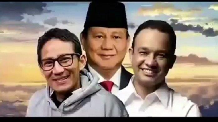 Prabowo Subianto Paling Polpuler Didukung Jadi Capres 2024 Disusul Anies dan Sandiaga