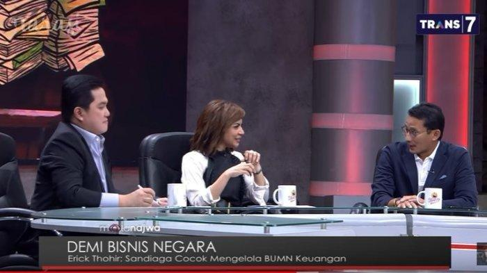 Sandiaga Ingatkan Erick Thohir Hati-hati di BUMN, Kalau Rugi Ya Uangnya 270 Juta Rakyat Indonesia