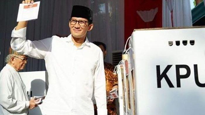 Terungkap Alasan Sandiaga Uno Tak Ikut Rayakan Kemenangan Bareng Prabowo, Absen Lakukan Ini