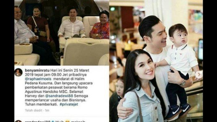 Dulu Nikah di Disney Land, Suami Amoy Asal Bangka Sandra Dewi Ini Beli Pesawat Jet Pribadi