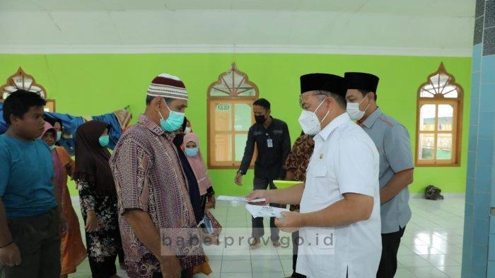 Tinjau Pembangunan Masjid, Gubernur Bangka Belitung Jalin Silahturahmi