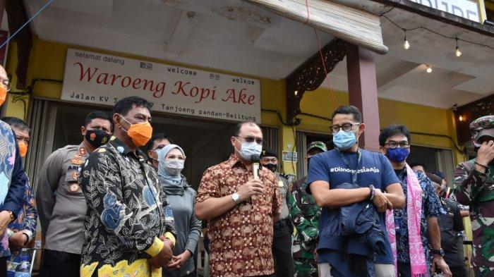 Dua Site Belitung Dicanangkan Jadi Prioritas Destinasi Wisata ke-6 Indonesia