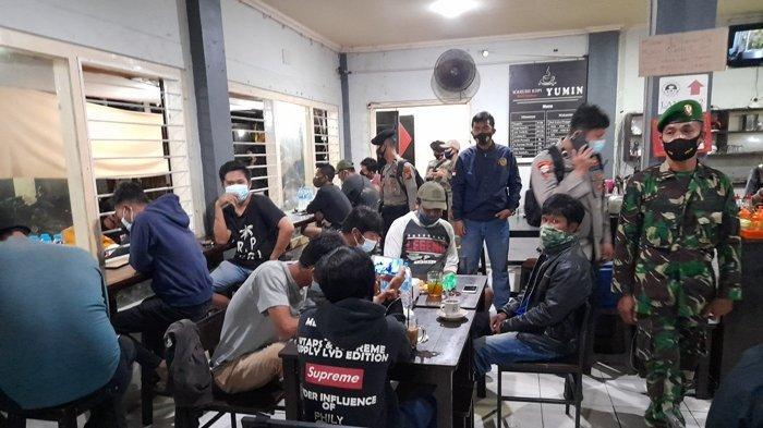 Sepekan Kasus Positif Covid-19 di Bangka Belitung Berjumlah 305 Orang, Satgas Gabungan Razia Kafe