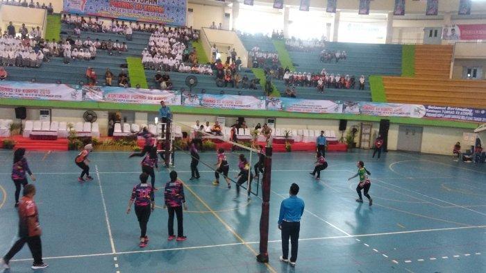 Jawa Barat Juara Voli Putri Pornas XV Korpri