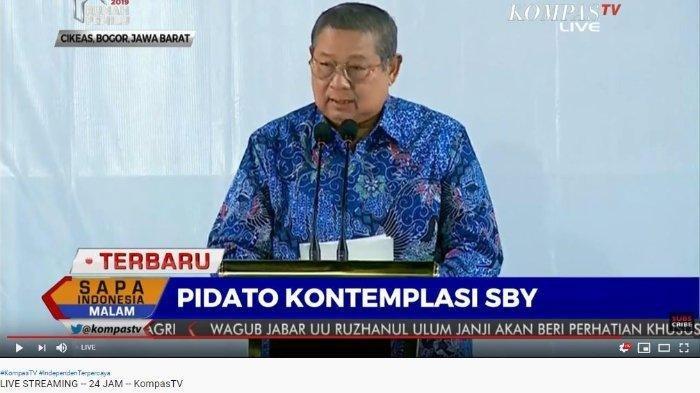 SUMPAH SBY yang Siap Pasang Badan dan Mati-matian Bela Partai Demokrat, SBY: Tidak untuk Dijual