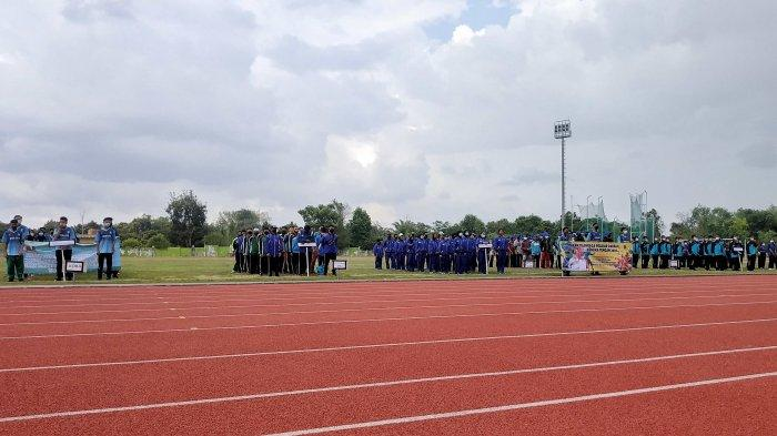 414 Atlet Hadiri Pembukaan Popda Bangka Tengah