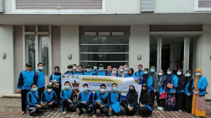 Kontingen IAIN SAS Babel Terbang ke Padang Ikuti Pekan Kreativitas Mahasiswa