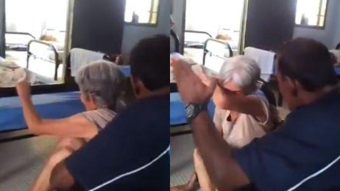 Viral Video Pria Siksa Wanita Tua di Panti Jompo Terungkap Pelaku Ternyata Dikenal Menteri Ini