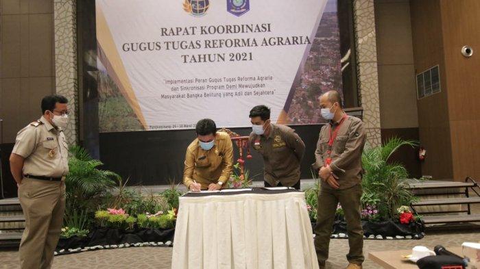 Sekda Sebut Reforma Agraria Upaya Penataan Pemanfaatan Tanah