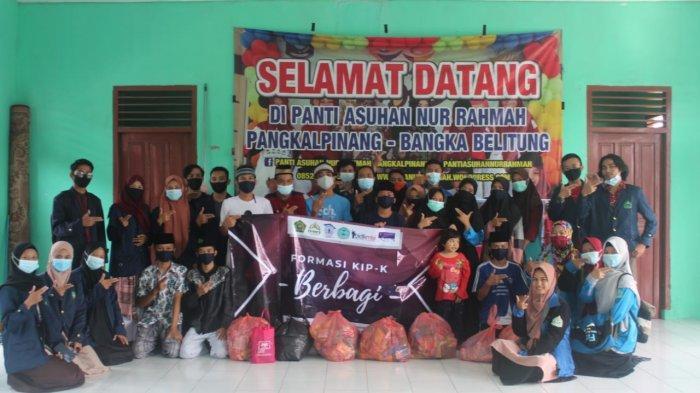 Formasi KIP-K IAIN SAS Bangka Belitung Bagikan 100 Paket Sembako