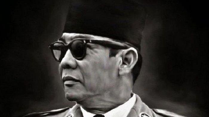 Presiden pertama Indonesia, Ir. Soekarno atau Bung Karno.