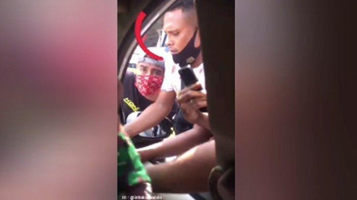 Beraninya Sekawan Pria Bentak dan Teriak Kasar pada Anggota TNI yang Bawa Orang Sakit di Dalam Mobil