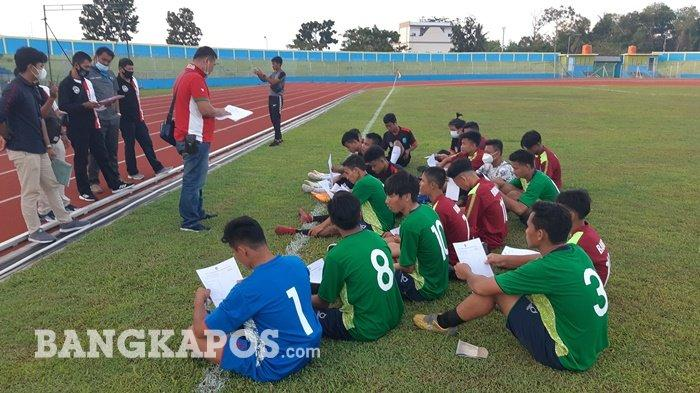 21 Pemain Lolos Seleksi, Begini PenjelasanSekjen Asprov PSSI Bangka Belitung