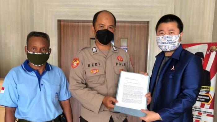 Antisipasi Munculnya Manuver KLB, DPC Partai Demokrat Datangi Polres Bangka Selatan