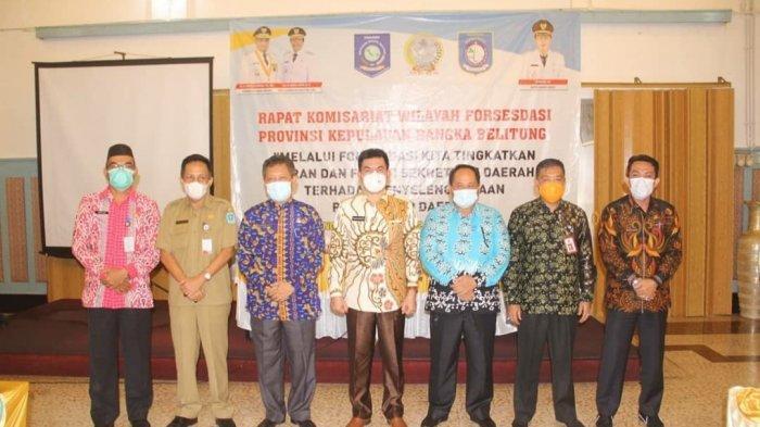 Bangka Barat sebagai Tuan Rumah Rakomwil FORSESDASI Provinsi Bangka Belitung