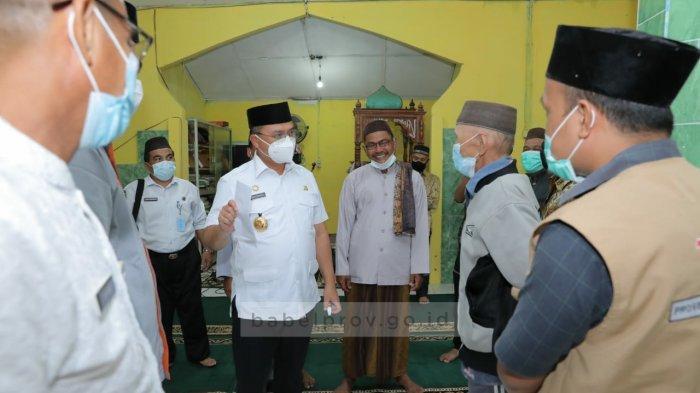 Masjid Baitul Isti'mar Buyan Kelumbi Dapat Bantuan dari Pemprov Bangka Belitung