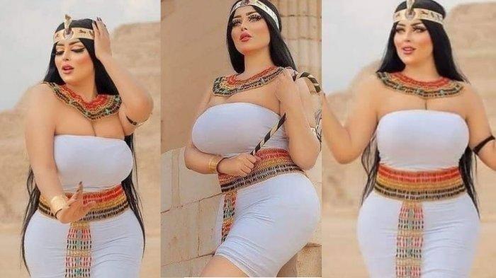 Selebgram Salma el Shimy Ditangkap Polisi, Tampil Seksi Saat berfoto di Depan Piramida Mesir