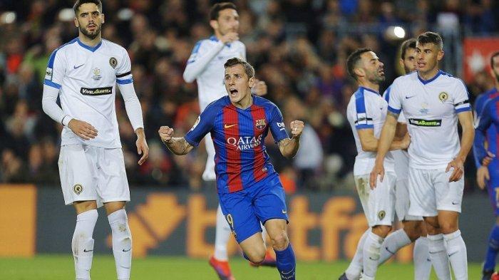Barcelona Cukur Hercules 7-0 Meski Tanpa Trio Messi-Neymar-Suarez