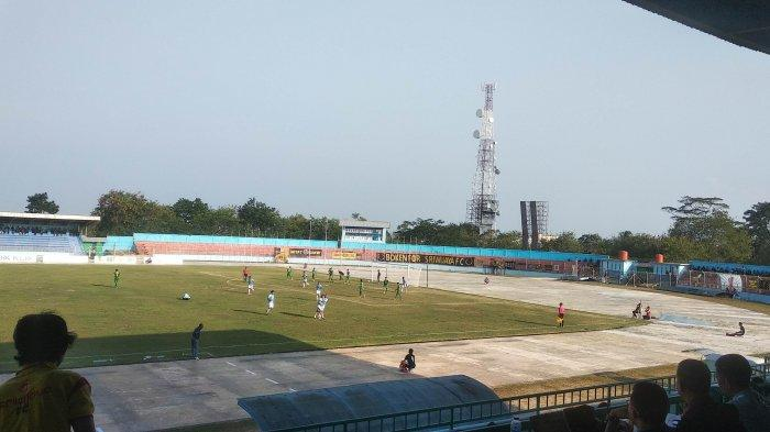 UPDATE SKOR: Babak Pertama Babel United FC 1-0 Sriwijaya FC