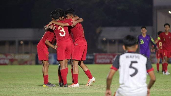 Bantai Brunei 8-0, Timnas U-16 Indonesia Tempel Ketat China di Kualifikasi Piala Asia U-16 2020