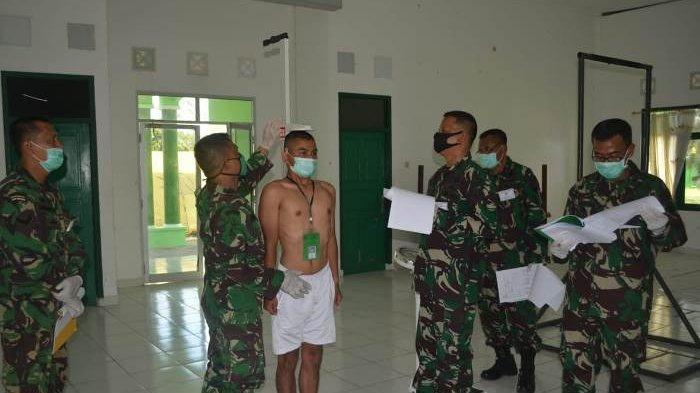 Korem 045 Gaya Bangka Belitung Rekrut Tamtama PK TNI Angkatan Darat