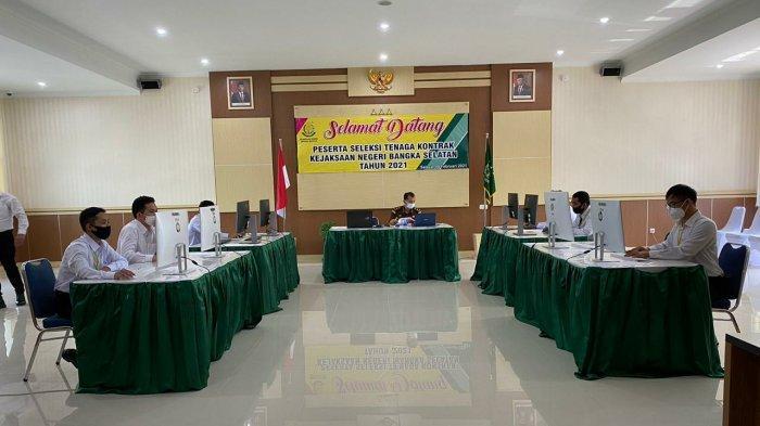 Kegiatan seleksi Tenaga Kontrak Kejaksaan Negeri Bangka Selatan