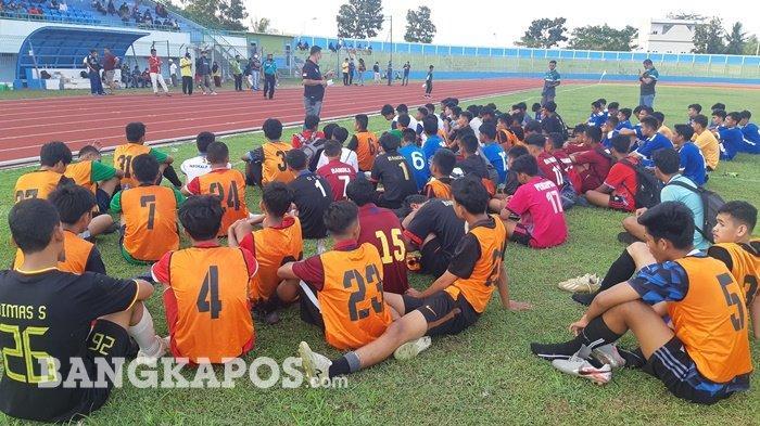 38 Pesepak bola Lolos Seleksi Timnas Asprov PSSI Bangka Belitung