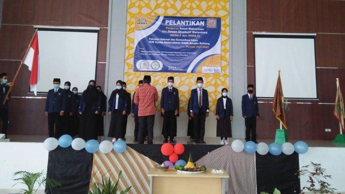 Pelantikan Pengurus Sema dan Dema Masa Bakti 2021-2022 Fakultas Dakwa dan Komunikasi Islam