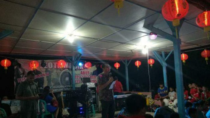 Ribuan Warga Tionghoa Padati Kelenteng Sam Po Kong Semarakan Sembayang Bulan