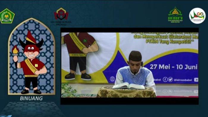 Hari Pertama PKM Se-Sumatera, IAIN SAS Babel Tampil di Empat Cabang