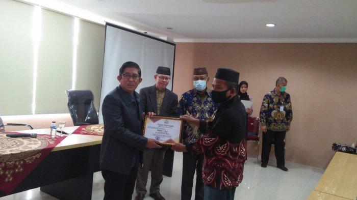 IAIN SAS Bangka Belitung Gelar Pelepasan Purna Bakti Bahmi Baid