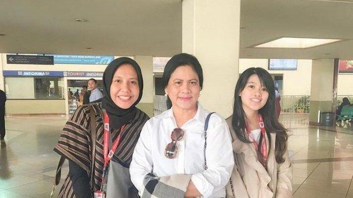Semringahnya Nadya Arifta Foto Bareng Ibu Negara Iriana Jokowi, Sudah Kenal Lama Kaesang Pangarep