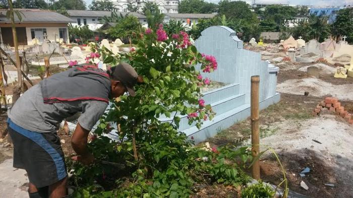 Pekuburan Sentosa Pangkalpinang Memang Terawat