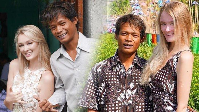 So Sweet, Bule Cantik Polly Alexandria Tiba di Indonesia, Sahur Pakai Nasi Bungkus Bareng Nur Khamid