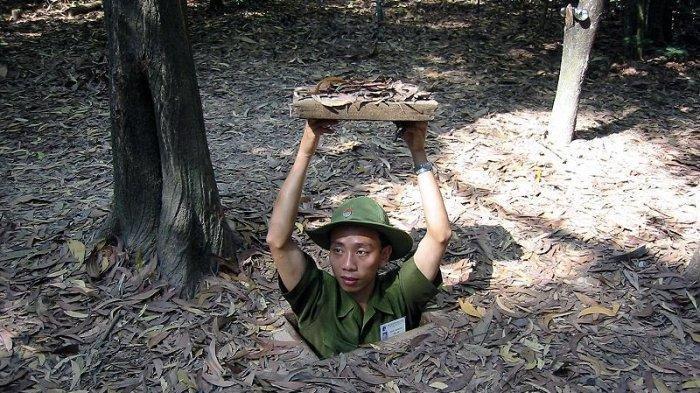 FAKTA-fakta hingga Misteri Terowongan Cu Chi, Saksi Bisu Sejarah Perang Vietnam