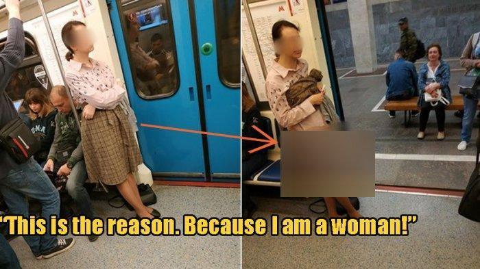 Demi Bisa Duduk di Kereta, Wanita Ini Lepas Pakaian Dalam tapi Tak Seorang Pun yang Berikan Kursinya