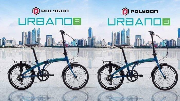 Terbaru, Daftar Harga, & Spesifikasi Sepeda Lipat Polygon, Harga Urbano Mulai Rp 4 Juta