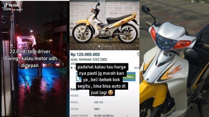 Awal Mula Pria Ini Rela Membeli Motor Bebek Seharga Rp 125 Juta, Videonya Viral