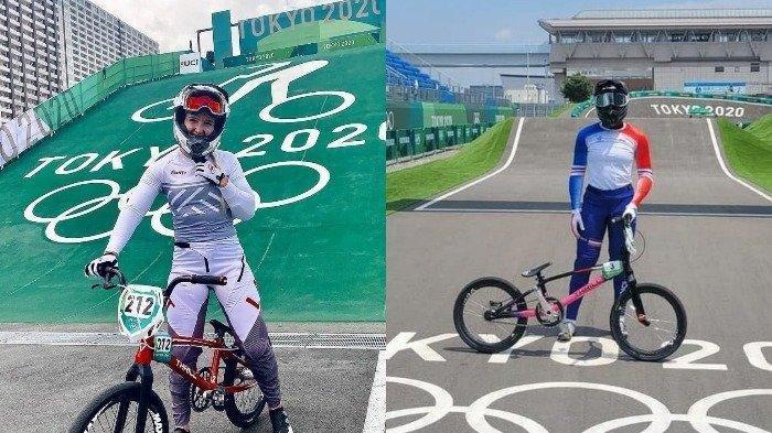 Sepeda Buatan Gresik Dipakai Atlet Cabang BMX Perwakilan Prancis dan Latvia di Olimpiade 2020