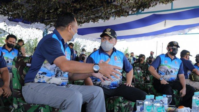 KASAU Ikuti Lomba Menembak Eksekutif Faling Plate di AWR Buding Belitung Timur