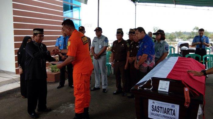 Satu Lagi Jenazah Korban Lion Air PK-LQP JT 610 Tiba di Pangkalpinang