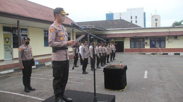 Sertijab Empat Perwira Polres Pangkalpinang, Kapolres Berharap Pejabat Baru Agar Beradaptasi
