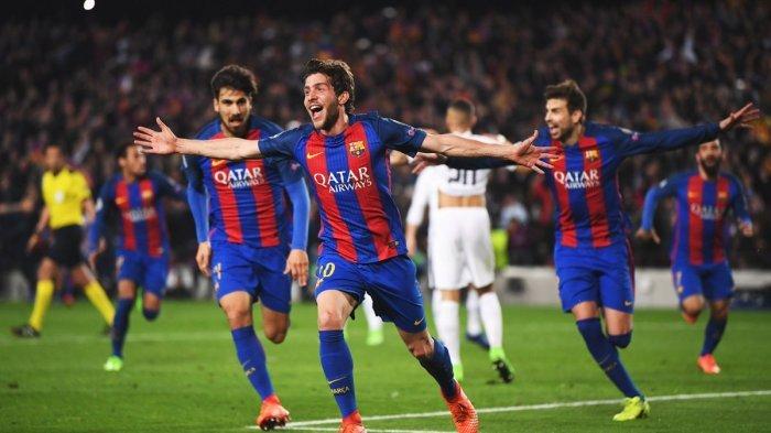 Inilah Drama Tujuh Gol di Camp Nou, Barcelona Gagalkan Impian PSG