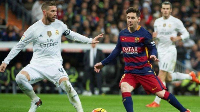 Jadwal El Clasico Barcelona vs Real Madrid, Messi dan Ramos Paling Lama Merasakan Duel
