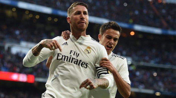REAL Madrid Kalah 0-1 atas Levante, Sergio Ramos dan Carvajal Ngomong Begini Soal Wasit