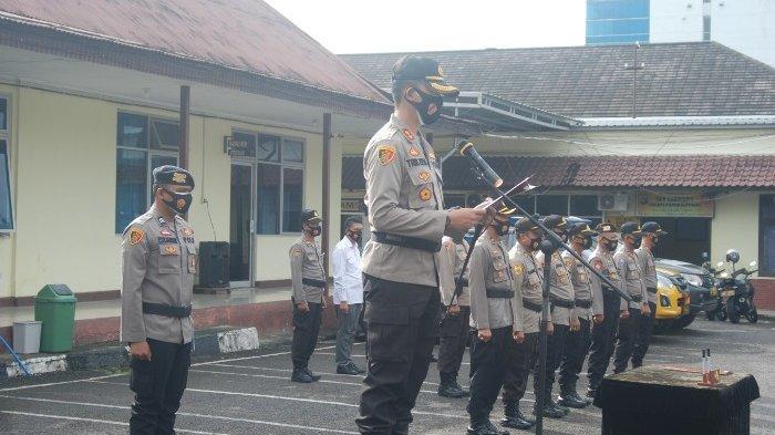 73 Anggota Polres Pangkalpinang Ditugas Amankan Pilkada Bangka Tengah