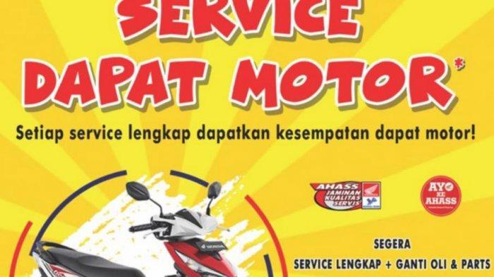 Super Hemat AHASS NSS Sungailiat Dari Gratis Oli Setahun Hingga Undian Motor Honda Beat