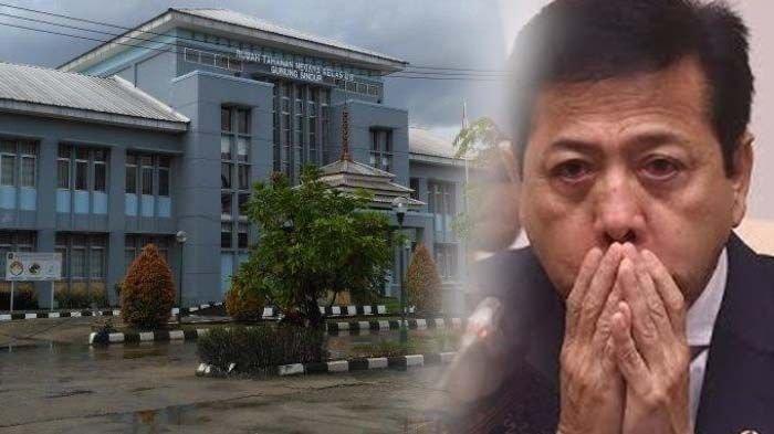 Kepergok Plesiran, Setya Novanto Dipindah ke Lapas Gunung Sindur, Penjara dengan Keamanan Ketat